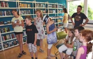 Eröffnung der Jugendbibliothek